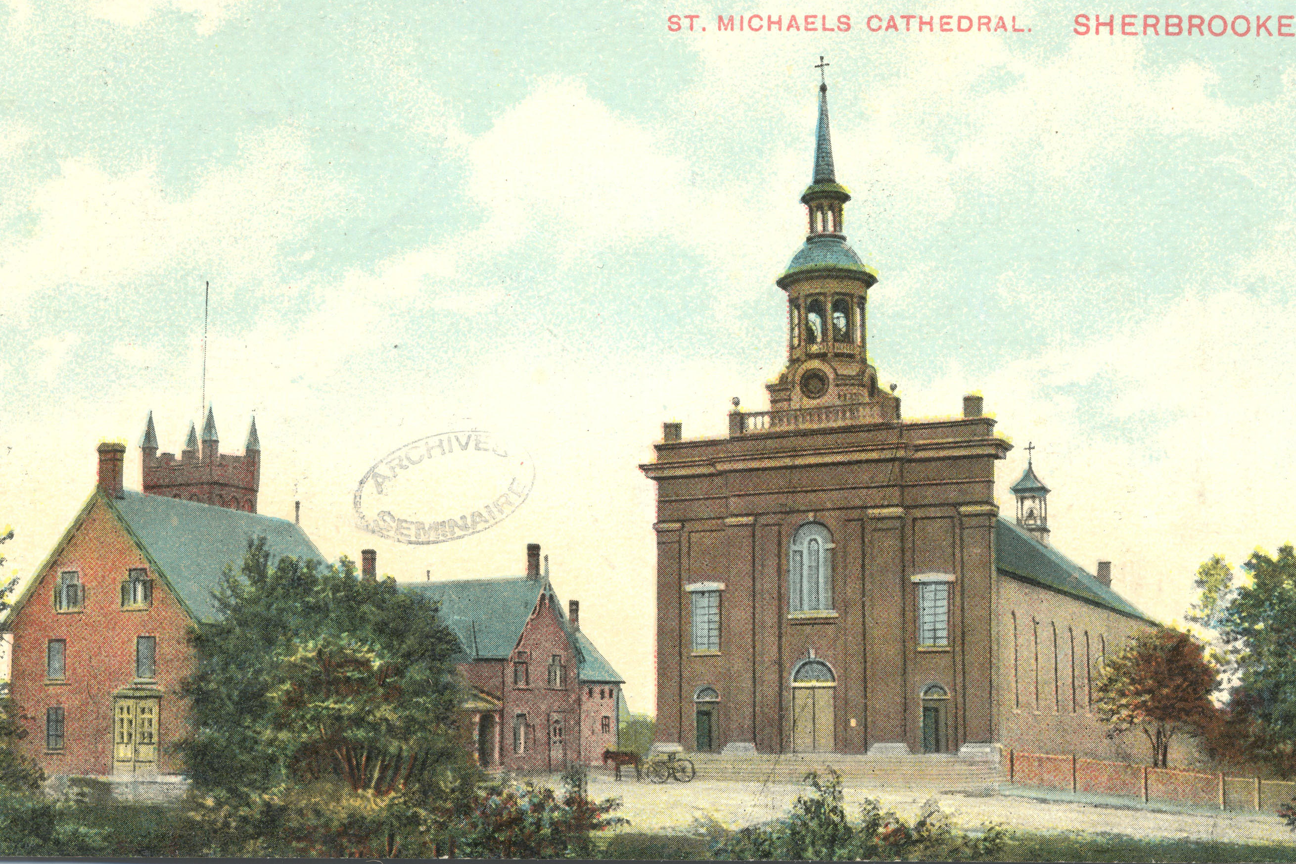 First cathedral Sherbrooke